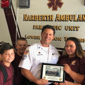 Photo of White and Williams Sponsors 3rd Annual Narberth Ambulance EMS Camp