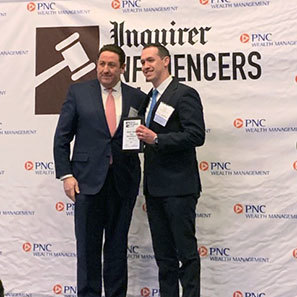 Photo of Vince Barbera Named 2019 Influencer of Law by <i> The Philadelphia Inquirer </i>