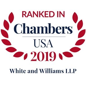 Photo of Chambers USA 2019 Ranks White and Williams as a Leading Law Firm