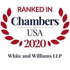 Photo of Chambers USA 2020 Ranks White and Williams as a Leading Law Firm