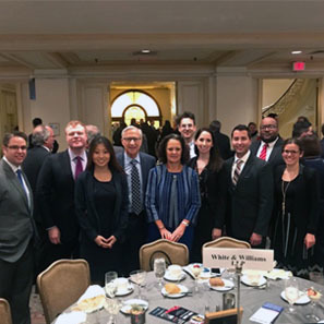 Photo of White and Williams Associates Honored at Philadelphia Bar YLD Annual Meeting